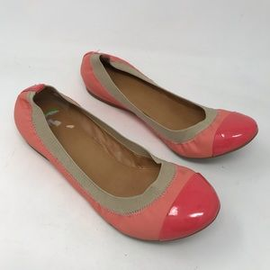 J. Crew Shoes - J Crew Marley Pink Patent Ballet Flats Shoes 50483